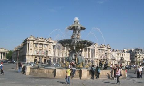 Fountain at Place de la Concorde, Paris