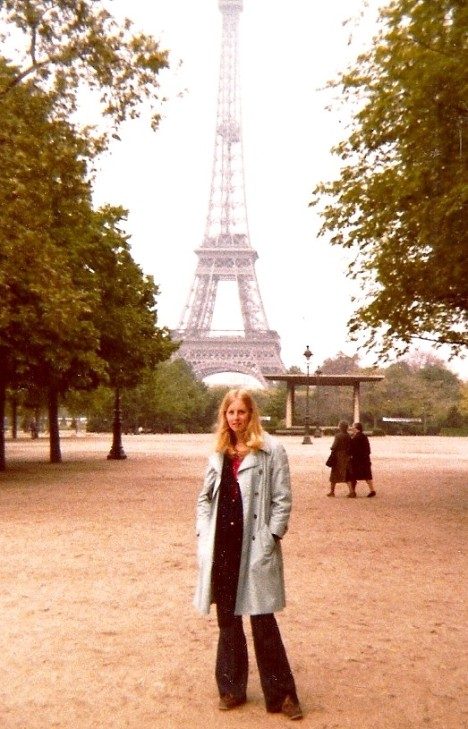 My first trip to Paris, age 25 (a few years ago)