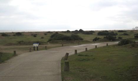 Nature reserve, Landguard Point