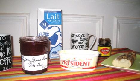 Breakfast in Paris 19 Oct. 2009