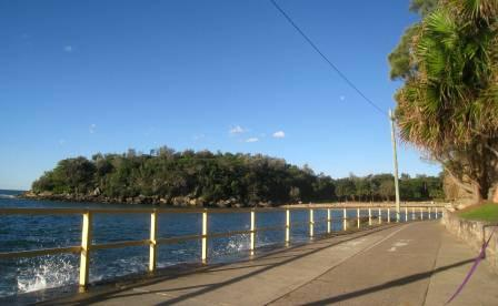 Walkway from Manly Beach to Shelly Beach, Sydney