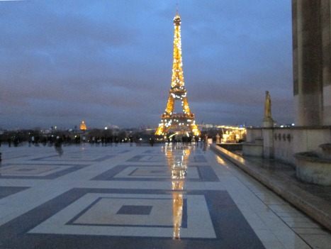 Uncrowded and reflective: Paris in winter