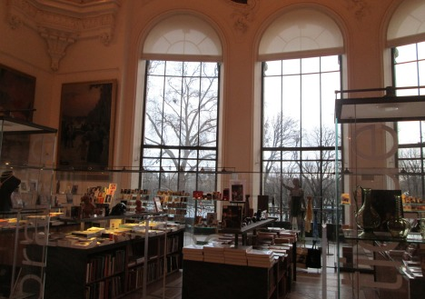 Bookshop at Petit Palais, Paris