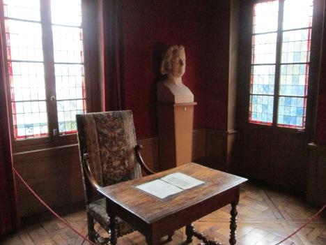 Balzac's study, Passy quartier, Paris