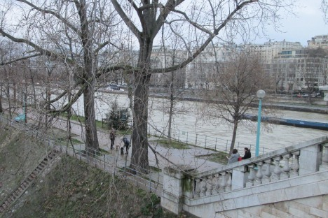 Walking by the Seine