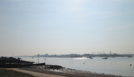 River Deben, Bawdsey Quay to Felixstowe Ferry, Suffolk