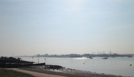 River Deben, Bawdsey Quay to Felixstowe Ferry, Suffolk