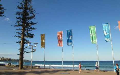 Our former home, Manly Beach, Australia