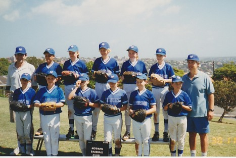 Coaching in Sydney (Gary on right), 1996