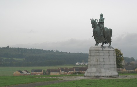 Statue of Robert the Bruce, Bannockburn, Scotland