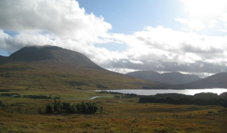 Near Glencoe, Southern Highlands, Scotland