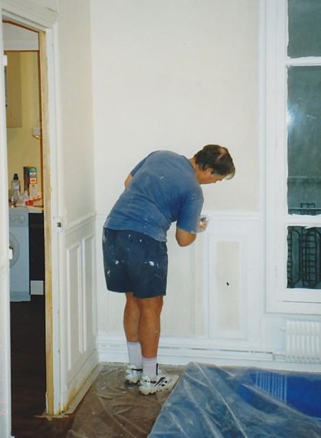 Painting in Paris, 1999