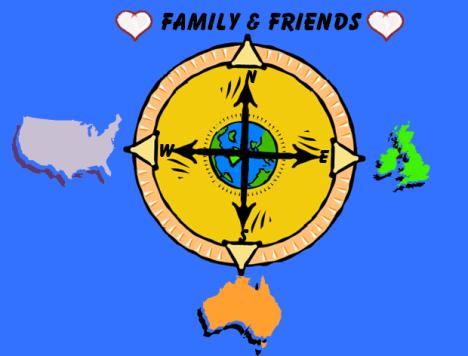 AA Compass w globe