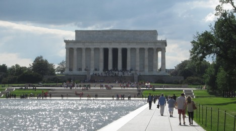 Lincoln Memorial, a favourite Washington DC location