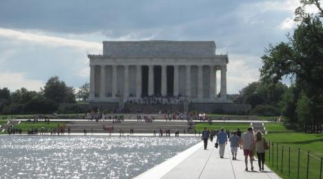 Lincoln Memorial, a favourite Washington DC location