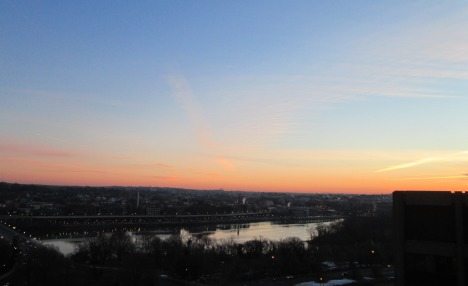 USA sunrise