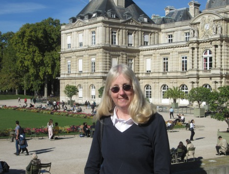 Catching some lovely Vitamin D in the Luxembourg Garden, Paris