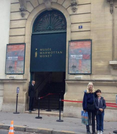 Taking older grandson (& his mum) to a favourite Paris museum