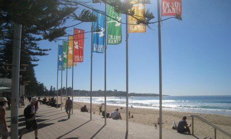 Morning at Manly Beach, Sydney