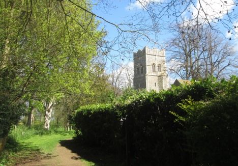 Path to St Ethelbert's