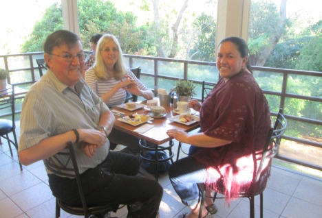 Afternoon treat at the Tea House, Caringbah NSW