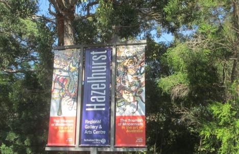The wonderful Hazelhurst Gallery, Gymea NSW