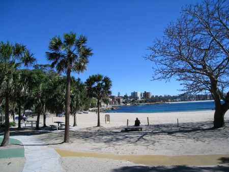 Shelly Beach, looking toward Manly Beach, Sydney