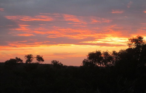 Sunset in Royal National Park, NSW