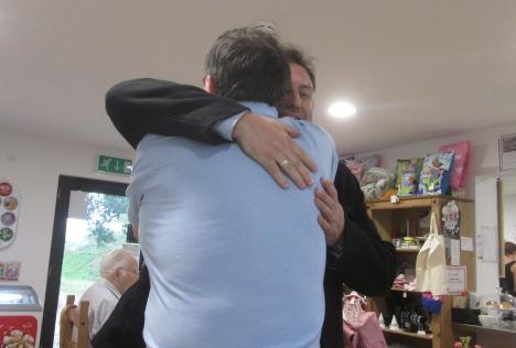 1 AA hug