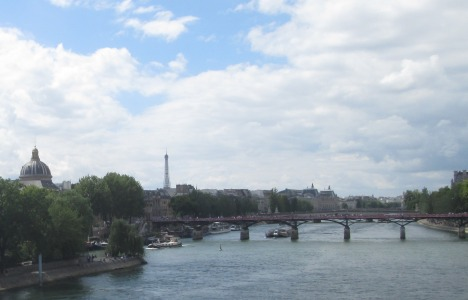 The Seine and the Pont des Arts, Paris