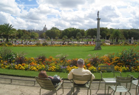 Summer in the Luxembourg Garden, Paris