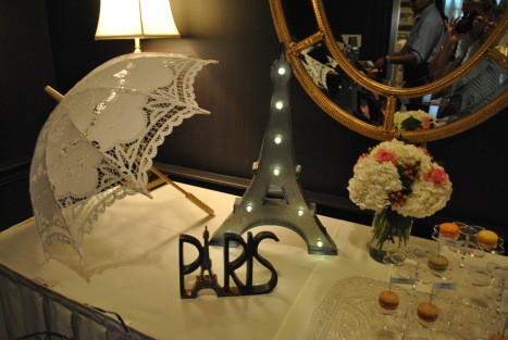 Shower of love: Paris in New Jersey