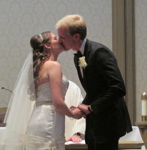 You may kiss the bride xxxxxxxxxxxxx