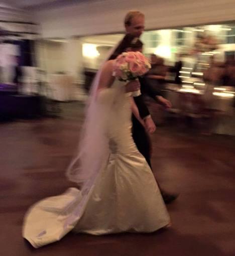 Despite the blur, we love this photo