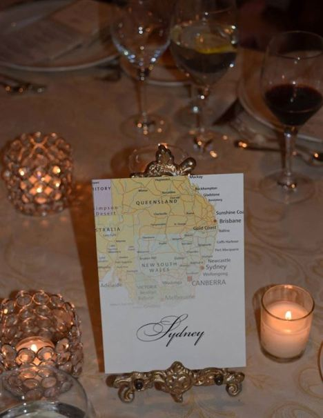 'Sydney' table
