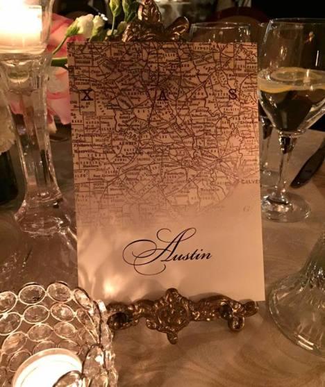 'Austin' table