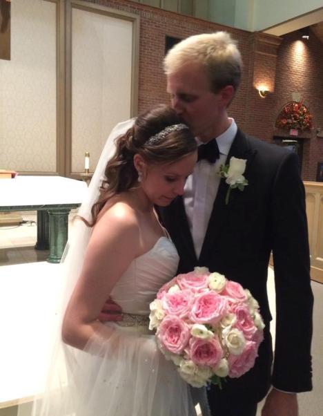 38 AA Mr and Mrs and headband