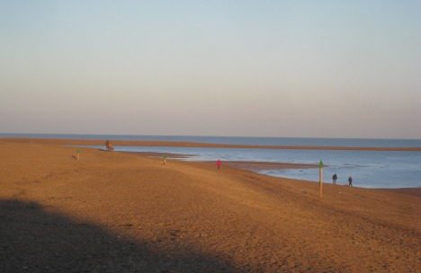 Felixstowe's 'the Dip' in November