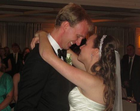 My son and belle-fille, a wedding to remember