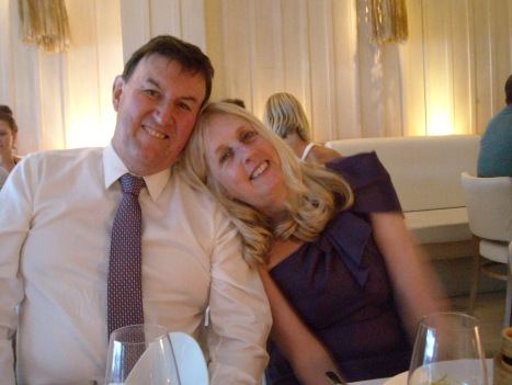 Conclusion of our wedding day, November 2010, Sydney