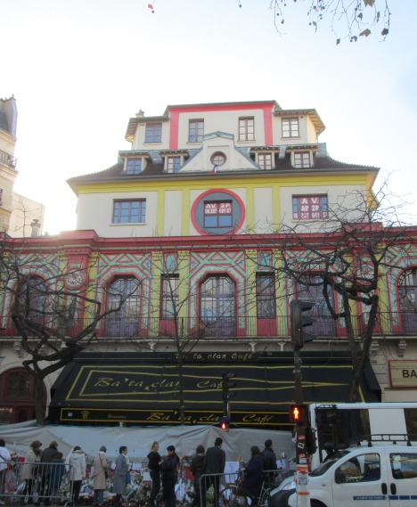 Bataclan theatre, Paris