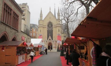 petite Christmas market, les Féeries d'Auteuil, Paris