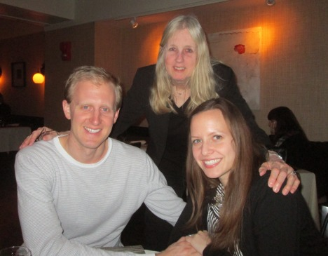 with my son and belle-fille in Washington DC