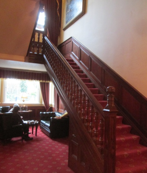 Stairs at Orwell Hotel