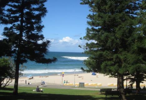 Cronulla Beach, south of Sydney