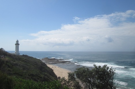 Lighthouse at Norah Head, New South Wales Central Coast