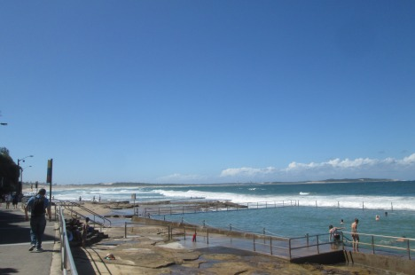 Ocean pool at Cronulla Beach, Sydney