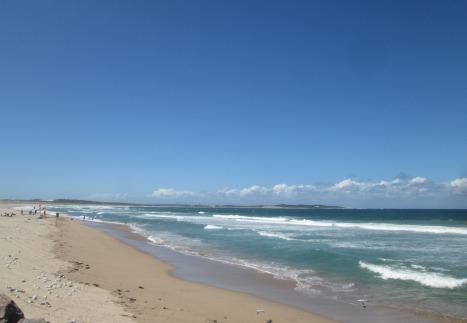 Thursday afternoon at North Cronulla Beach, Sydney
