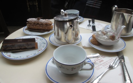 Tea for two at Carette, Paris