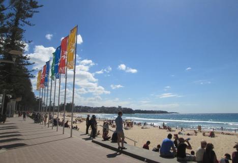 Manly beach, Sydney, March 2015